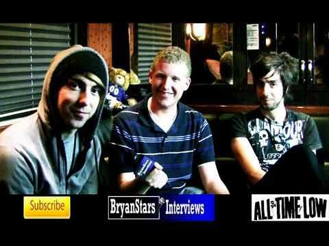 All Time Low Interview Alex Gaskarth & Jack Barakat 2010