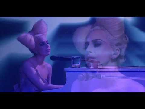 Lady Gaga - Speechless Acoustic Instrumental Live at the VEVO Launch Event