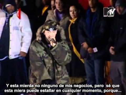 Eminem - Like Toy Soldiers en vivo subtitulada al espa?ol