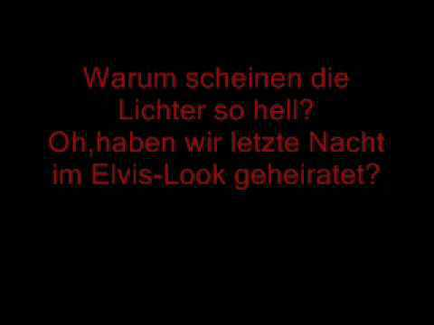 Katy Perry - Waking up in Vegas (Lyrics - Deutsch)
