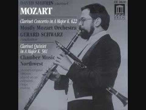 Mozart: Clarinet Concerto: III. Rondo     (Audio Only)