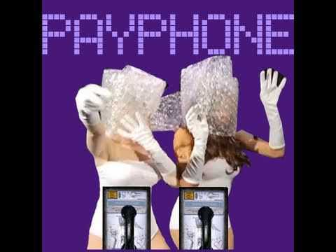 LADY GAGA & BEYONCE PARODY: PAYPHONE KARAOKE VIDEO
