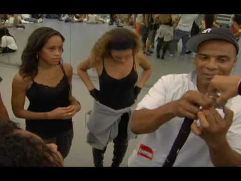 Beyonce Behind the Scenes MTV VMA Awards 2006 (Part 1)