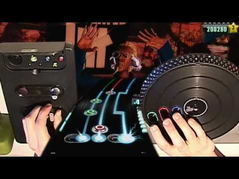 Benny Benassi Satisfaction vs Tiesto Elements of Life (DJ Hero Expert 5*)