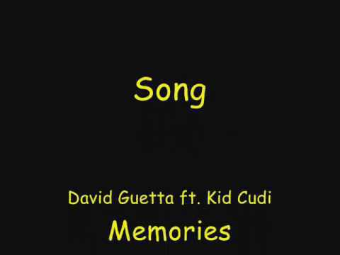 David Guetta ft  Kid Cudi - Memories lyrics und deutsche ?bersetztung