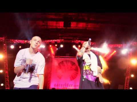 Видеоотчёт о концерте Баста/Гуф 21 июля