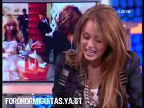 El Hormiguero- Entrevista a Miley Cyrus