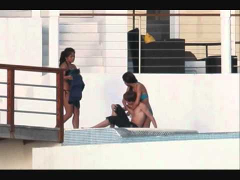 Justin Bieber & Selena Gomez Kuss in der Karibik