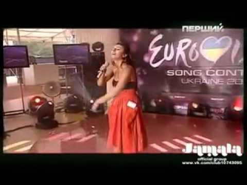 Джамала на отборочном туре Евровидения 2011 (live)