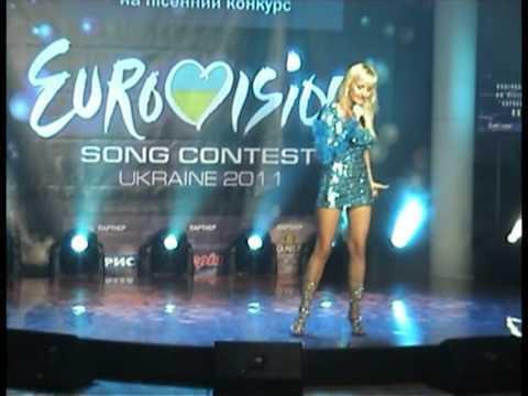 Евровидение 2011  певица АнгелиЯ  eurovision song contest  2011