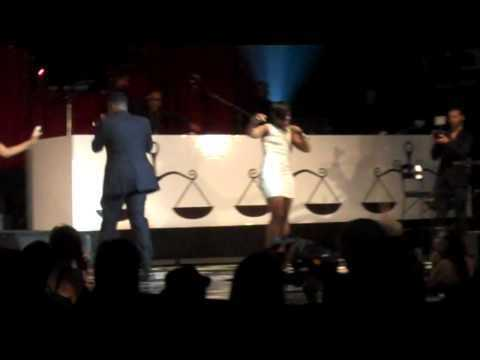 Diddy at Ne-Yo and VEVO American Music Awards afterparty performing Hello, Good morning.MP4