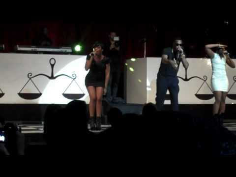Diddy at Ne-Yo and VEVO American Music Awards afterparty.MP4