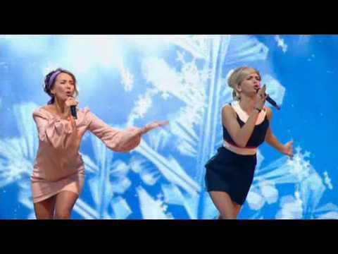 Жанна Фриске & Вера Брежнева 'Оливье-шоу'  2011