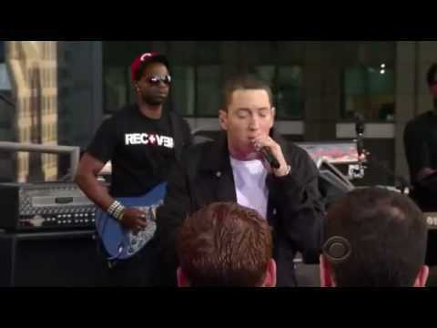 Jay-Z And Eminem Perform Renegade Live on Letterman