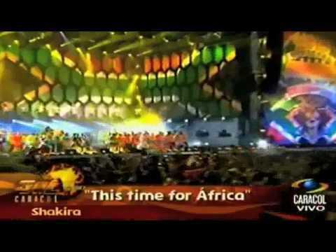 Waka wuaka en vivo MUNDIAL  2010 Shakira.HD