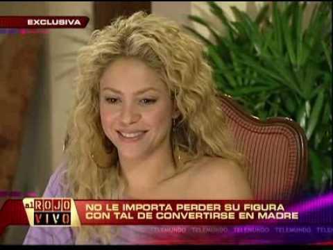Shakira entrevista con Al Rojo Vivo (www.Shakira-Argentina.com.ar)