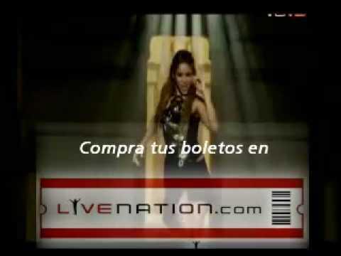 Shakira en vivo - 2010 TOUR (2010-2011) - [Spanish Promo]