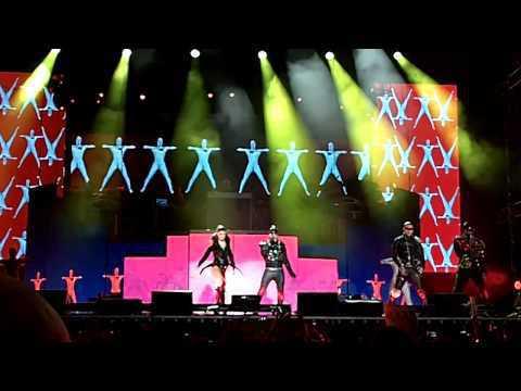 Black Eyed Peas - Boom Boom Pow  ao vivo de S?o Paulo - Brasil
