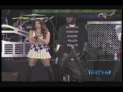 Black Eyed Peas Live en Vivo en M?xico ( Goliath ) Pump It - Telehit