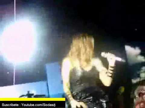 Fergie moviendo el trasero en vivo -  Black Eye Peas en chile