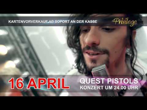QUEST PISTOLS - exclusive im Club PRIVILEGE Kornwestheim