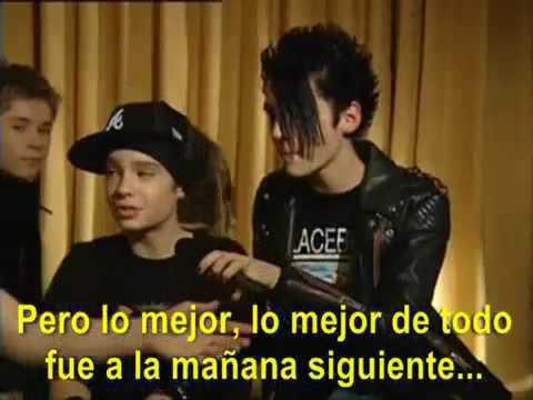 Tokio Hotel mirando sexo en vivo
