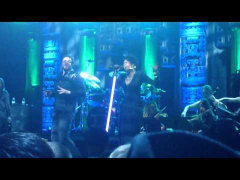 Duran Duran unstaged (RAW footage) Come Undone with Kelis part 2